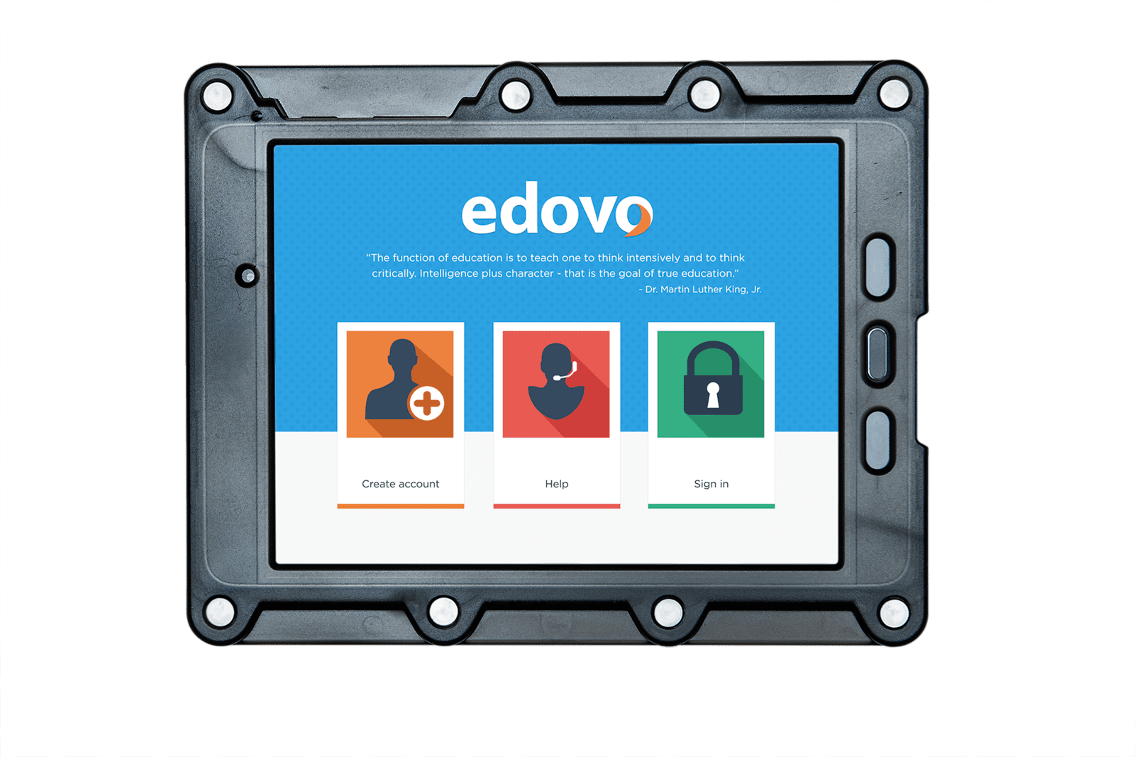 Edovo's tablets are the perfect solution for advanced and secure inmate tablet technology.